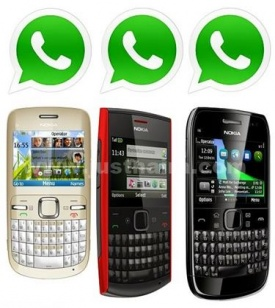 whatsapp on nokia phones